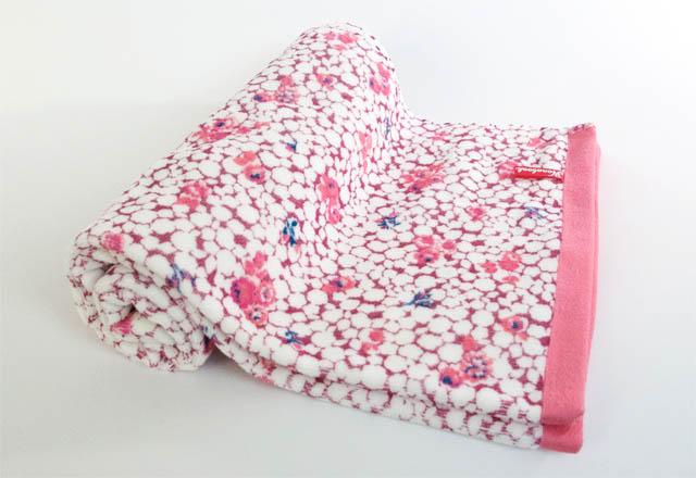 ハナブック シャーリングバスタオル:ヒメバラ ピンクガーデン